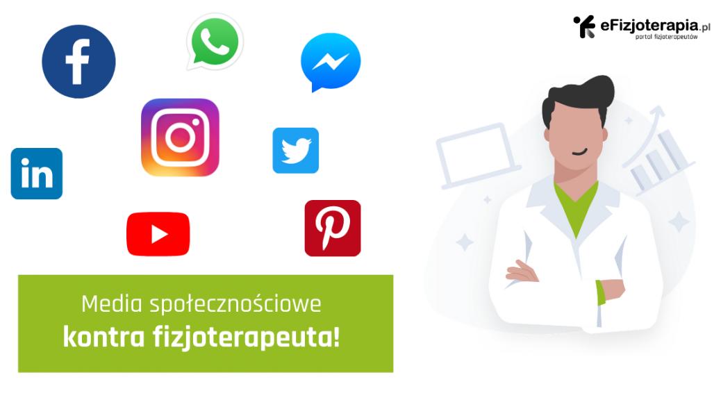 media społecznościowe fizjoterapeuty, facebook fizjoterapeuty, instagram fizjoterapeuty