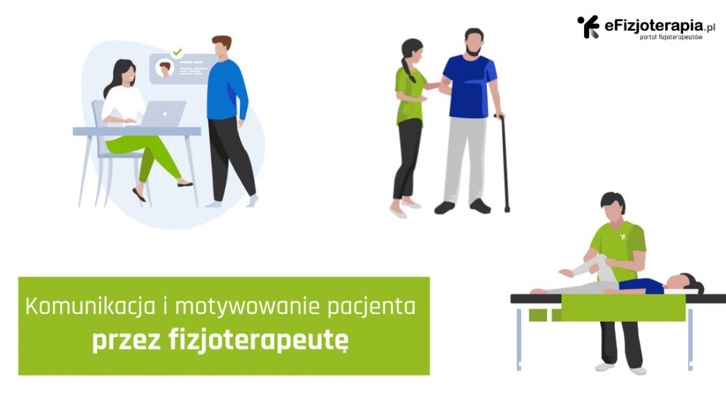 fizjoterapeuta motywuje pacjenta, komunikacja z pacjentem, motywowanie pacjenta